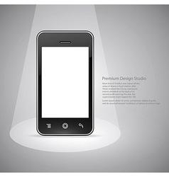 Smart phone design vector image vector image