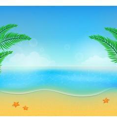 summer beach28 vector image