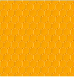 Seamless geometric pattern with honeycombs vector image vector image