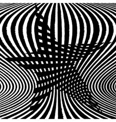 Star stripes background vector