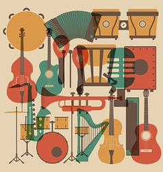174instrument set vector