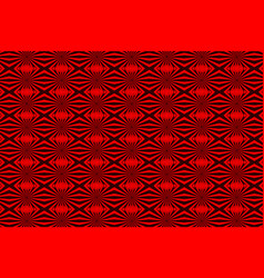 abstract pattern - red vector image