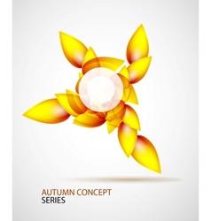 Autumn symbol vector image