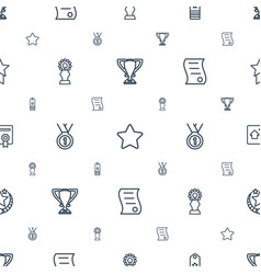 Best icons pattern seamless white background vector