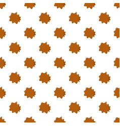 Brown caramel pattern vector