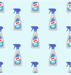 cleanser bottle chemical housework product vector image