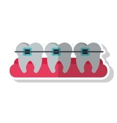 Dental medical and health care design vector