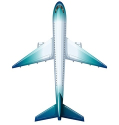 Modern design aeroplane vector