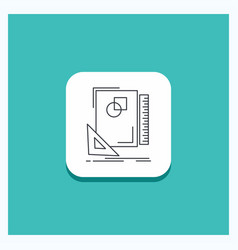 round button for design layout page sketch vector image