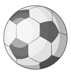 Soccer ball icon cartoon style vector image