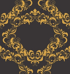 Floral beautiful seamless pattern vector image vector image