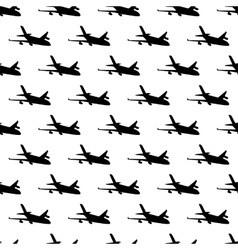 Plane pattern seamless vector image vector image