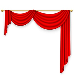 Curtain Mesh vector image