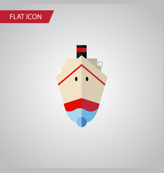 isolated shipping flat icon delivery vector image