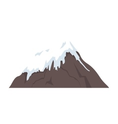 mount fuji japan isolated vector image
