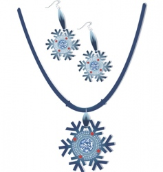 necklace vector image