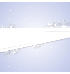 Concept abstract winter Christmas background vector image vector image