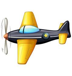 A vintage aircraft vector