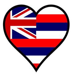 Love hawaii vector