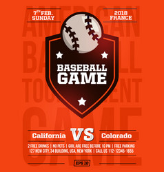 Modern professional sports design poster vector
