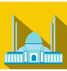 Mosque flat icon vector