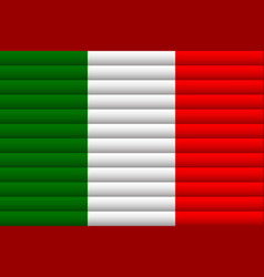 National flag italy for independence day vector