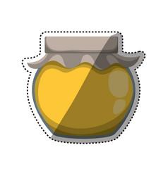sweet and organic honey vector image