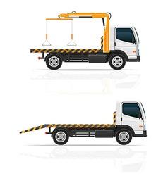 Tow truck 04 vector