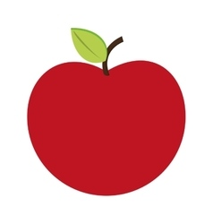 whole apple icon vector image