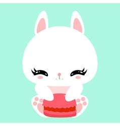 bunny 24 vector image