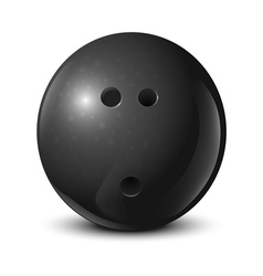 Bowling ball vector