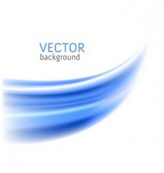 abstract blue wave backgrounds vector image