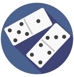 Dice domino vector