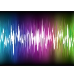 Equalizer Abstract Sound Waves EPS 8 vector