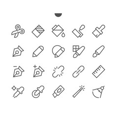 Graphic design pixel perfect well-crafted vector