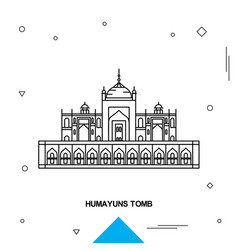 Humayuns tomb vector
