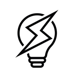 light bulb ideas concept eps 10 vector image