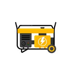 Portable electric power generator electric vector