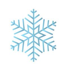 snowflake icon snowflake vector image