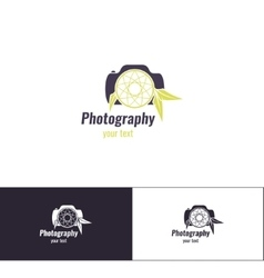 Photography Logo Two vector image