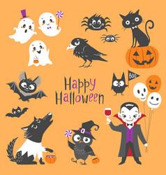 Cute halloween vector