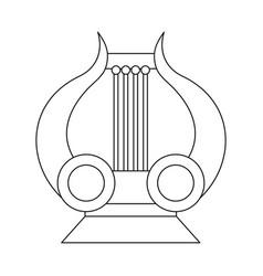 Design lira and apollo logo collection vector