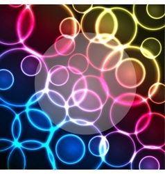 lights background vector image