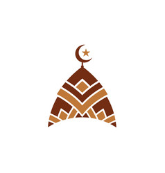 Mosque icon design vector