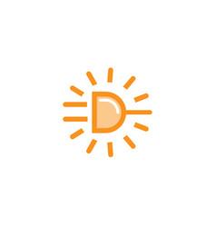 Power sun plug icon logo vector