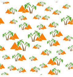 pyramids seamless background vector image