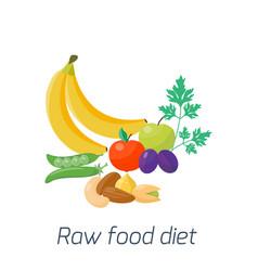 ripe yellow banana fruits juicy healthy vector image