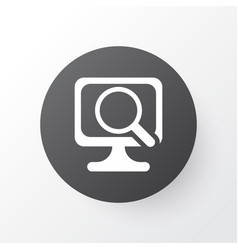 Scan computer icon symbol premium quality vector
