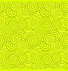 Seamless geometric circle pattern design vector