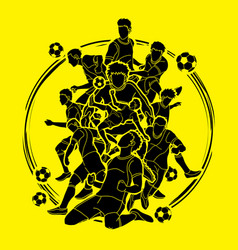 Soccer player team composition vector
